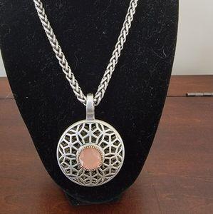 Premier Second Act pendant with necklaces